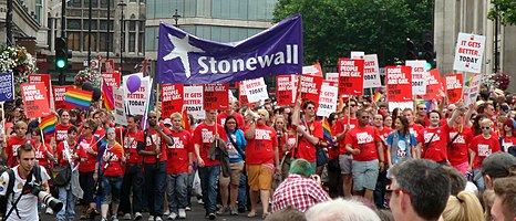 Stonewall (charity) - Wikipedia