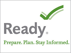 English: Full Ready.gov logo with tagline and ...