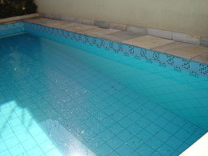 A swimming pool.