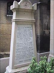 Tumba de Baudelaire en Montparnasse