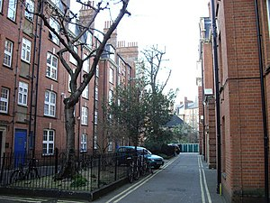 English: William Sutton Estate Two blocks on t...