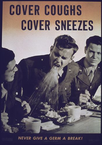 """Cover Coughs, Cover Sneezes"" - NARA..."
