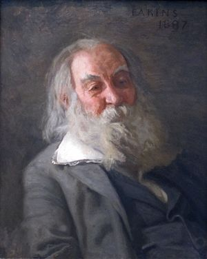 Portrait of Walt Whitman