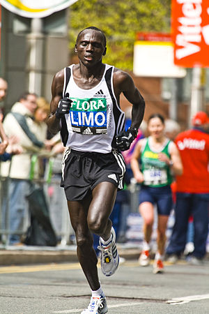 Felix Limo at the 2008 London Marathon