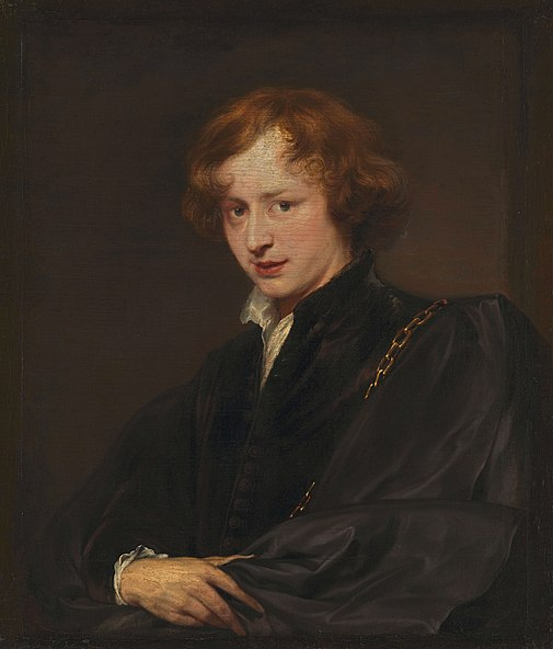 File:Anthonis van Dyck Self Portrait.jpg