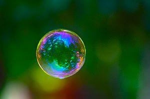 A bubble.