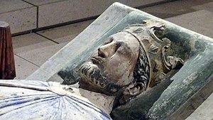 English: Effigy of Richard I of England in the...