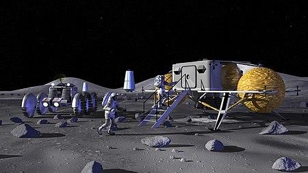Lunar outpost (NASA) - Wikipedia