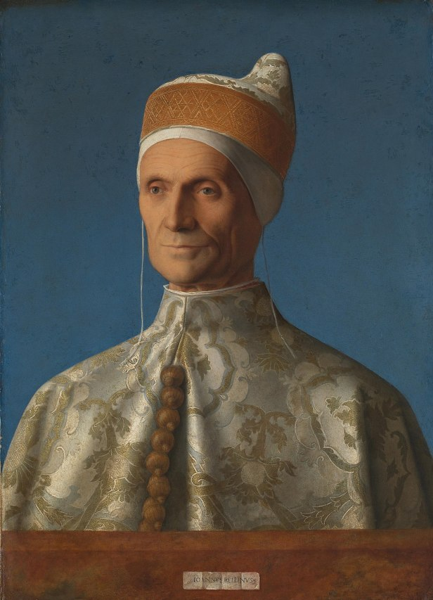 """Portrait of Doge Leonardo Loredan"" byGiovanni Bellini"