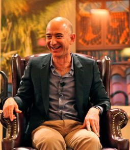 Jeff Bezos iconic laugh