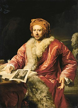 """Resultado de imagen para Johann Joachim Winckelmann, a menudo llamado """"el padre de la arqueología""""."""