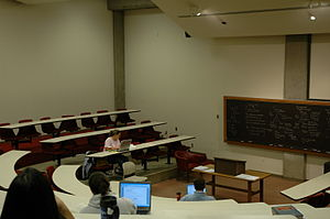Lecture hall on first floor
