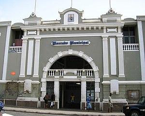 Municipal Market in Mindelo town, São Vicente ...