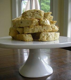 Pignoli (pine nuts) cookies