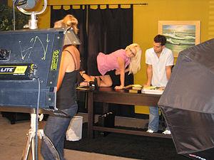 Pornographic film set.