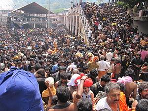 Sabarimala pilgrims