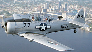 This image depicts a North American AT-6 Texan