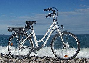 English: Clean Energy Bike Français : Vélo Cle...