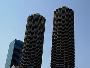 Wilco Towers in Chicago, USA