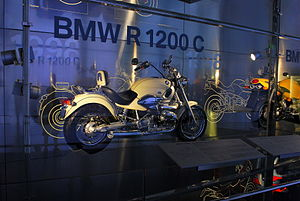 BMW R1200C at the BMW Museum