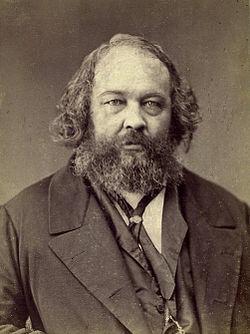 Bakunin fotad av Nadar
