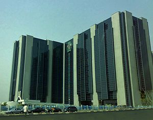 Headquarters of the Central Bank of Nigeria in...