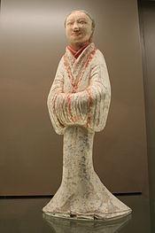 13eab34ab5182 الصورة اليسرى  ا هان الفخار خادم الإناث في أردية الحرير الصورة الصحيحة   راقصة هان فخار أنثى في أردية الحرير