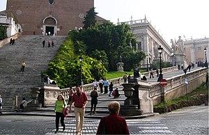 English: Cordonata, Roma