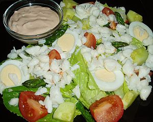 Crab Louie salad