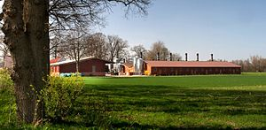 English: Factory farming in the Cloppenburg di...