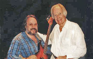 Alberto Jorge (musician) with Sir George Marti...
