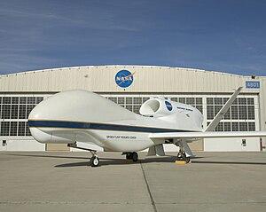 English: A Global Hawk at NASA's Dryden Flight...