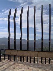האנדרטה לזכר עולי הגרדום בבית העלמין בצפת