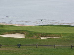 "18th green; taken from the ""Ocean View,&q..."