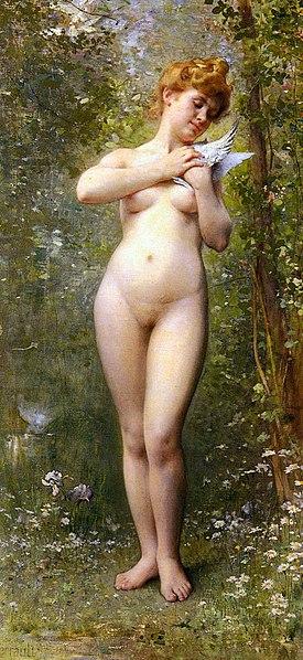 File:Perrault Leon Jean Basile Venus A La Colombe.jpg