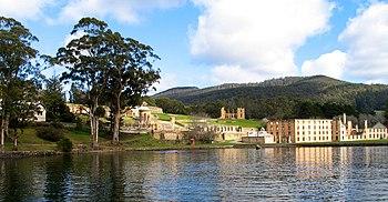 Pelabuhan Arthur, Tasmania merupakan koloni terakhir Australia terbesar