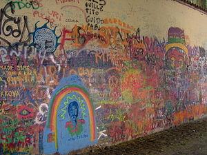 Prague - John Lennons Wall