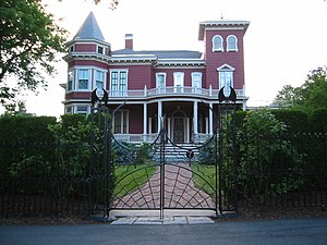 English: Stephen King's House in Bangor, Maine