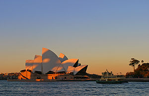 The Opera House, still not quite captured.