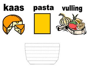 Nederlands: toetsopgave over lasagne