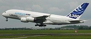 Aribus A380 go around/aborted landing at &quot...