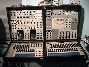 Buchla 100 series modular synthesizer at NYU