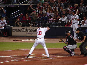English: Chipper Jones