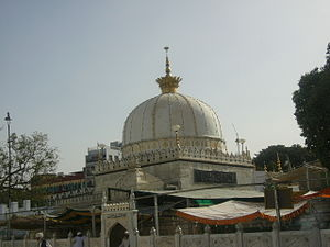 Dargah of Sufi saint Moinuddin Chishti Ajmer India