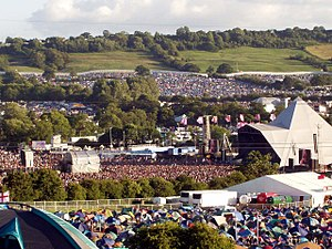 The Glastonbury Festival is the largest open-a...