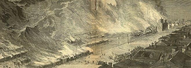 Pittsburgh Railroad Strike Of 1877 Wikipedia