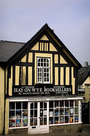 Hay-On-Wye Booksellers. Hay-on-Wye is a mecca ...