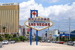 The Las Vegas Sign.