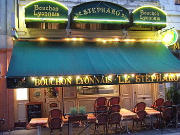 "English: A ""non-authentic"" bouchon i..."