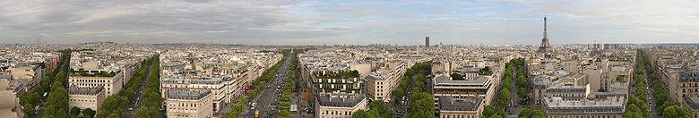 Bảo tàng nhìn từ sông Seine